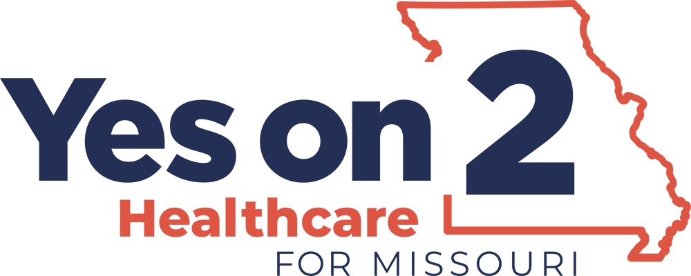 Yes on 2 Healtchare for Missouri logo